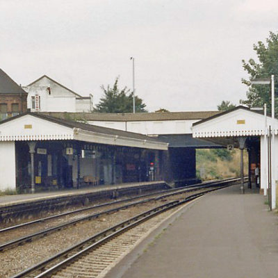 Crofton Park Station in 1983