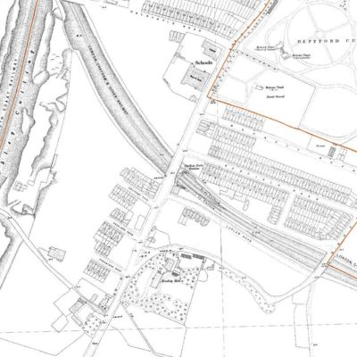 1890s OS Map of Site