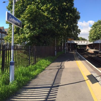 Crofton Park Station in 2016
